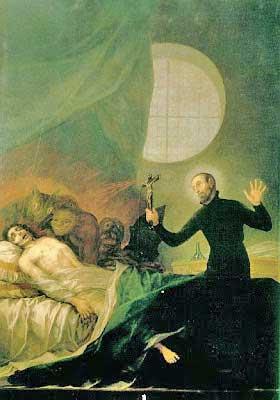 Saint Francis Borgia Exorcism