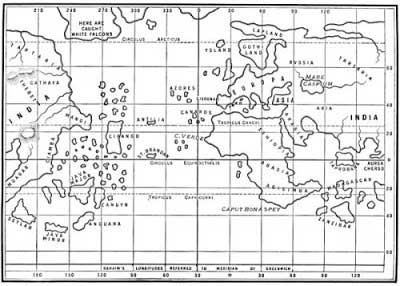 Scrivenings the flat earth myth its true that columbus and most christopher columbus map malvernweather Choice Image