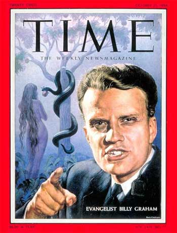 Reverend Billy Graham, Darkness and Light