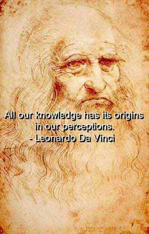 Leonardo da Vinci: Questioner of Authority, Empiricist, Anti-Flood Geologist