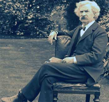 Mark Twain and Intelligent Design